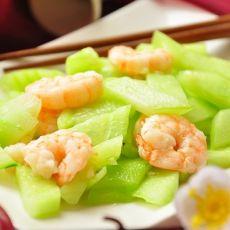 拌虾仁瓜片
