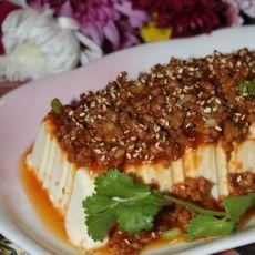 韩式肉酱拌豆腐的做法