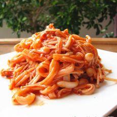 韩式辣拌金针菇的做法