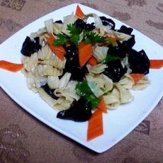 凉菜—拌豆皮的做法