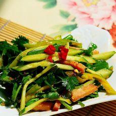 拌黄瓜凉菜