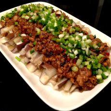 豆豉肉末拌茄子的做法