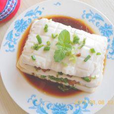 肉末千层豆腐