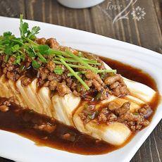 肉末凉拌豆腐