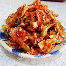 开胃爽口的辣拌包菜的做法