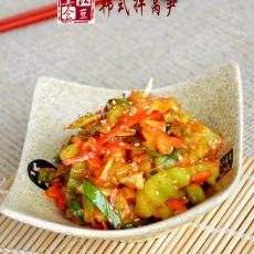 韩式拌莴笋