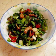 海米老虎菜