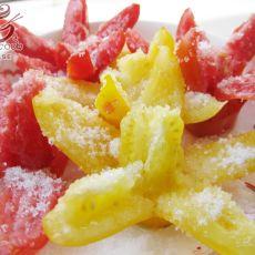 糖拌柿子的做法