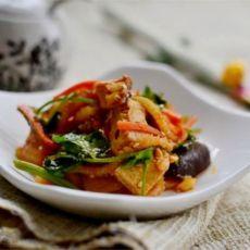 凉拌什锦素菜