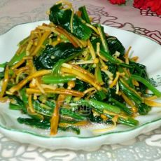 金针菇拌菠菜