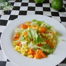 凉拌玉米粒的做法