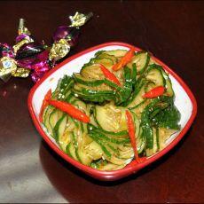 蓑衣黄瓜――凉拌菜