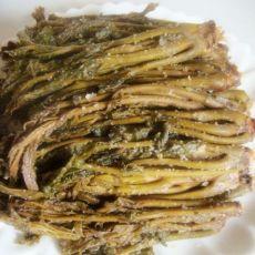传统法腌制香椿芽