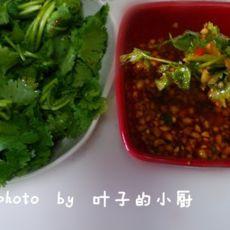 麻辣凉拌香菜的做法