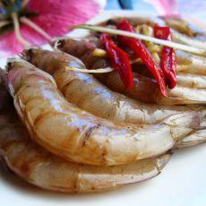 炝拌活虾的做法