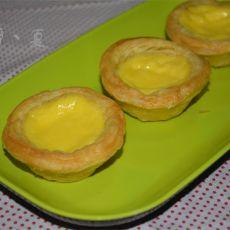 简易版蛋挞的做法