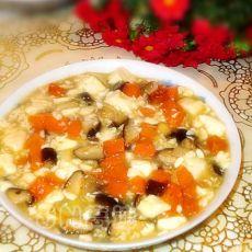 香菇胡萝卜豆腐羹