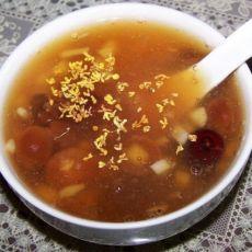 桂圆红枣羹的做法