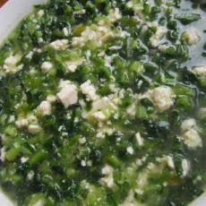 蔬菜豆腐羹