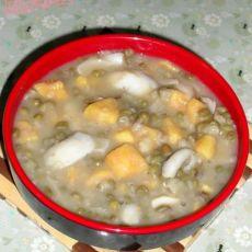 百合绿豆红薯羹