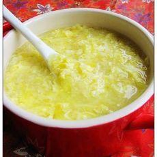 粟米蛋花羹的做法