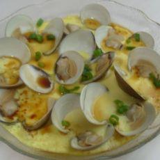蛤蜊蒸蛋羹