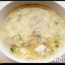 鸡蛋豆腐海蛎羹