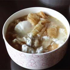 油条鸡蛋羹的做法