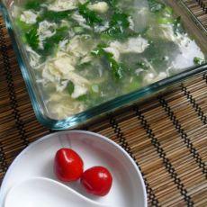清热消暑的菊花汤羹的做法