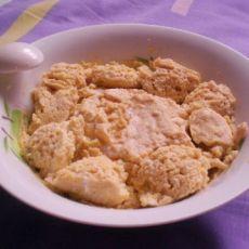 豆腐鸡蛋羹