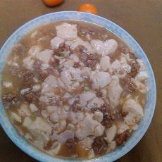 肉末豆腐羹