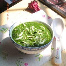 蔬菜银鱼羹的做法