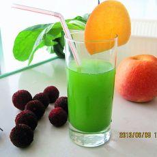 苔菜苹果汁