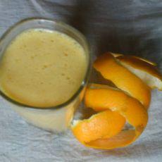 鲜榨橙子汁
