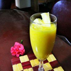 柳橙菠萝汁