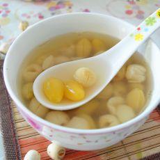 白果莲子糖水的做法