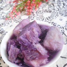 香芋紫薯糖水