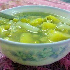 番薯绿豆糖水