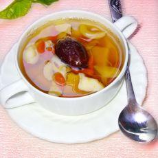 百合红枣南瓜糖水