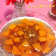 红薯绿豆糖水的做法