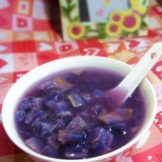 紫薯西米糖水