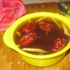 红枣桂圆姜糖饮