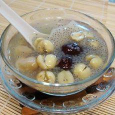 兰香子莲子糖水