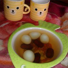 红枣枸杞鹌鹑蛋糖水的做法