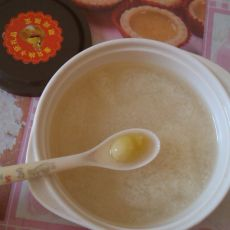 白果腐竹糖水