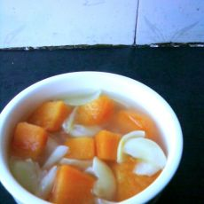 百合地瓜汤