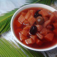 红枣酸梨糖水的做法