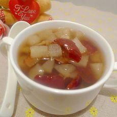 雪梨红枣糖水