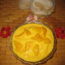 芒果冰沙-----夏季饮食