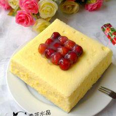 樱桃乳酪蛋糕